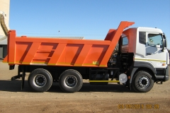 Tipper truck construction