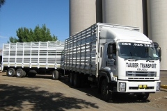 Isuzu FXZ 26 360 Trippel dekker track and trailer
